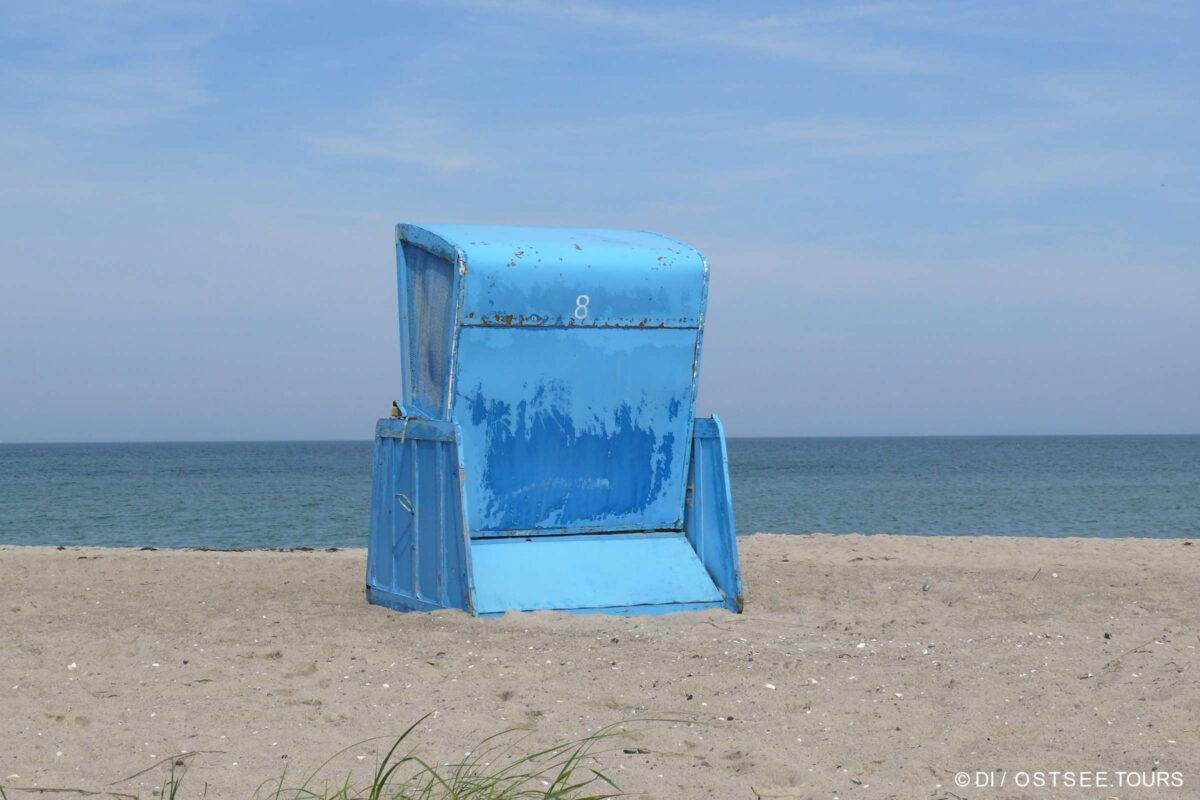 Urlaub im Strandkorb